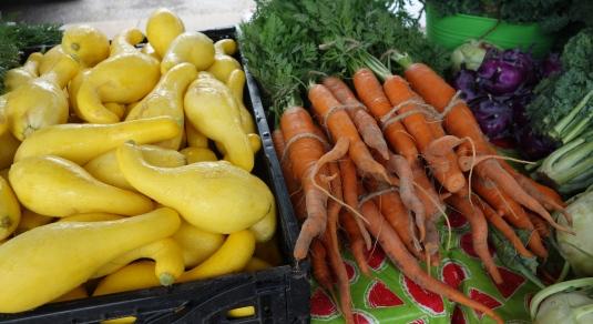 Squash & Carrots